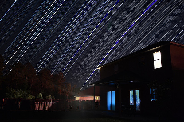 Fun With Star Trails