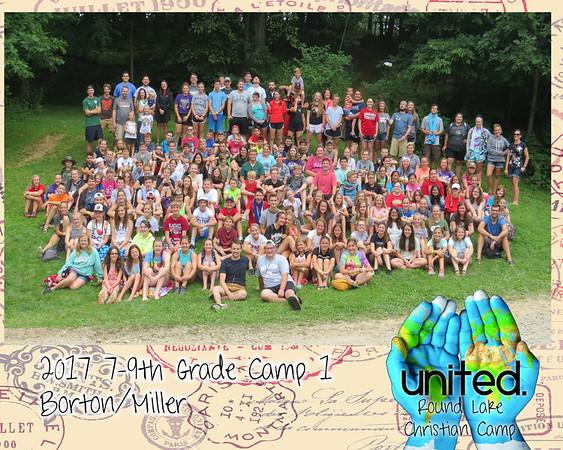 2017 7-9th Grade  Camp 1