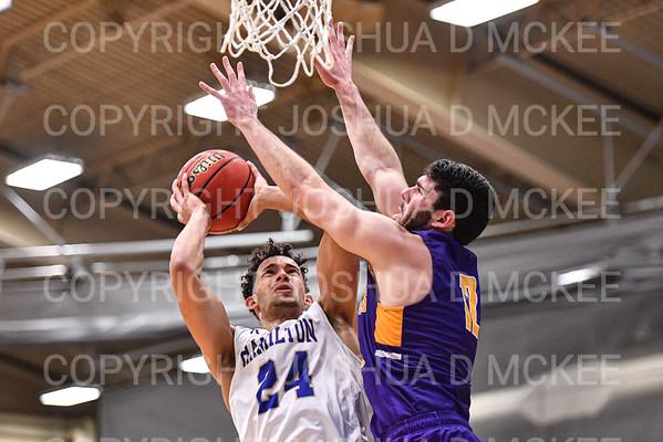 Hamilton Men's Basketball v Williams 1-10-20