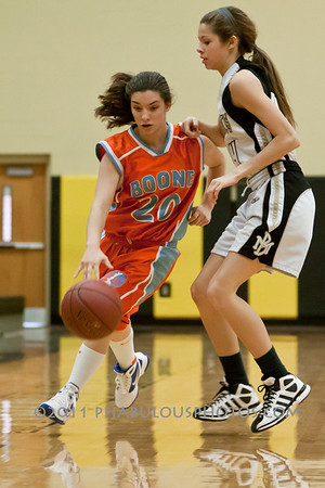 Boone @ Bishop Moore JV Basketball - 2012