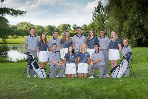 Wheaton College 2018-19 Golf Teams