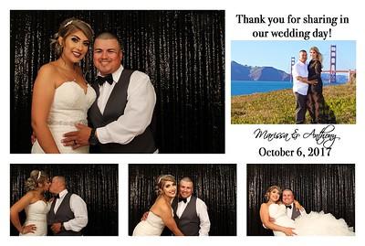 Marissa& Anthony's Wedding PhotoBooth