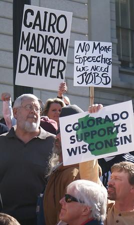 Wisconsin Solidarity Rally - Denver 2/22 & 26/2011