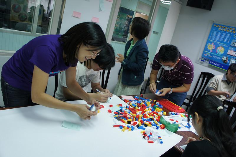 利用積木學專案管理