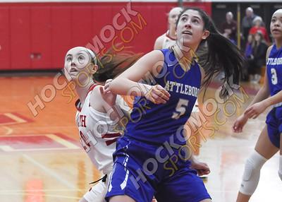 North Attleboro - Attleboro Girls Basketball 2-19-20