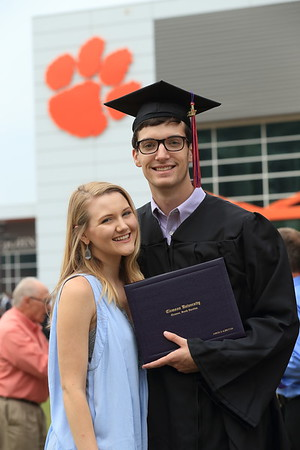 Graduation Weekend at Clemson - May 2017