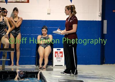 UGHS and LGHS swim practice