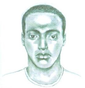 . Monrovia police are seeking the man pictured in this sketch in connection with a home-invasion robbery on July 15, 2012. (Courtesy of the Monrovia Police Department)