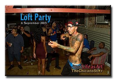 6 September 2015 Loft Party
