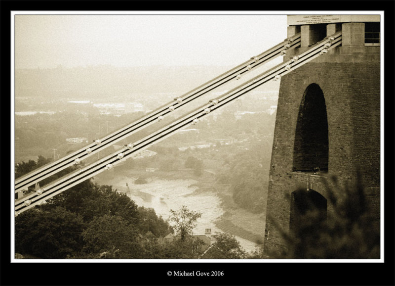 Misty City - view of Bristol though the Clifton Suspension Bridge (68872232).jpg
