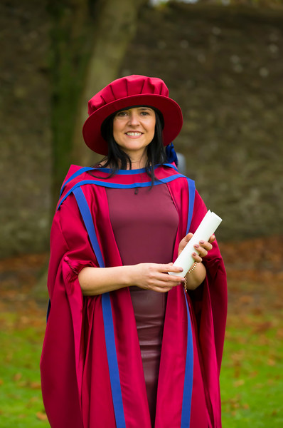 02/11/2017. Waterford Institute of Technology Conferring. Pictured is Sinead Mellett from Ennis Co. Clare who was conferred a PhD.  Picture: Patrick Browne.