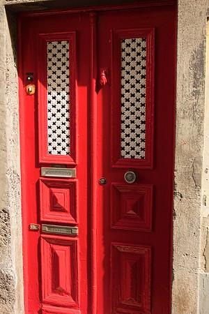 The artistic doors of Funchal