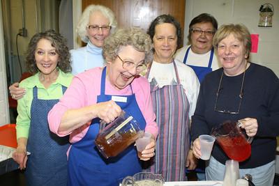 Free Community Soup Social, Trinity UCC, Tamaqua (3-3-2012)