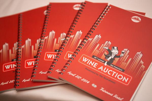 2014.04.26 The Guardsmen Wine Auction Fairmont Hotel