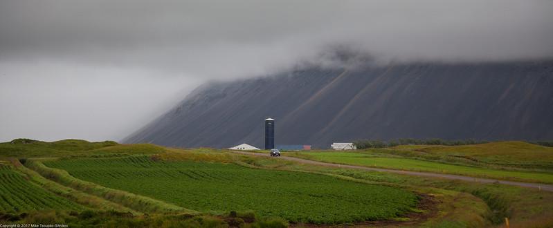 Hiking around Hofn, Iceland