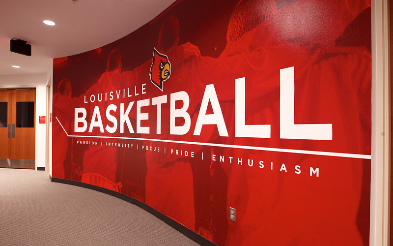 2011 - LOUISVILLE BASKETBALL GRAPHIC | design and photography by David Klotz