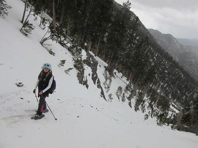 North Loop Trail via ski resort, 04/08/2016