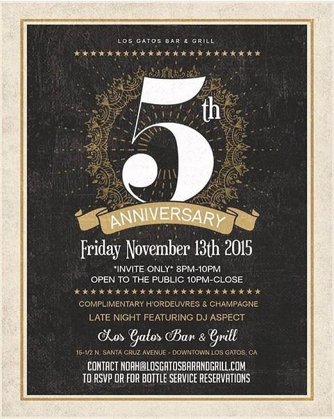 5th Anniversary @ LGBG 11.13.15