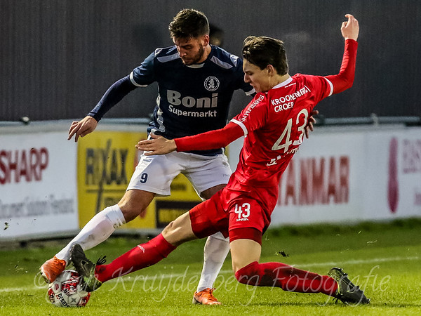 20191130 Jong Almere City vs Sparta Nijkerk
