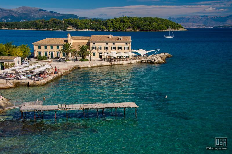 Corfu sea side