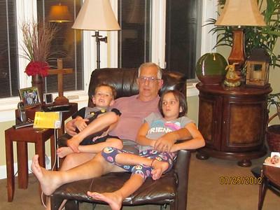 Nana and Papa visit 2012