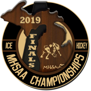 2019 0309 MHSAA Hockey Finals