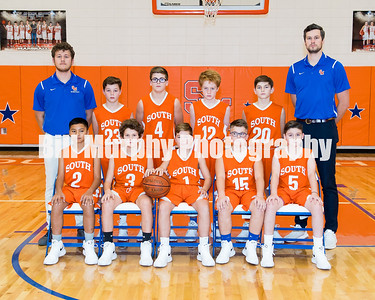 2017 - 2018 South Marshall Middle School 6th Grade Boys Basketball