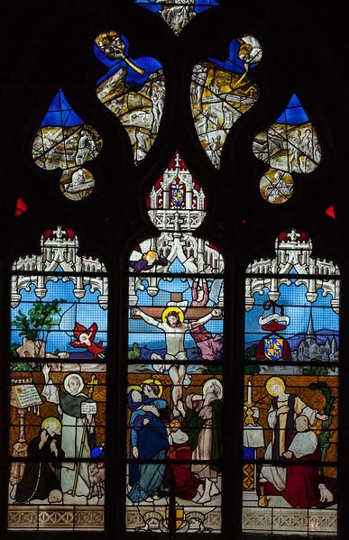 Autun, Saint Lazarus Cathedral,  The Crucifixion