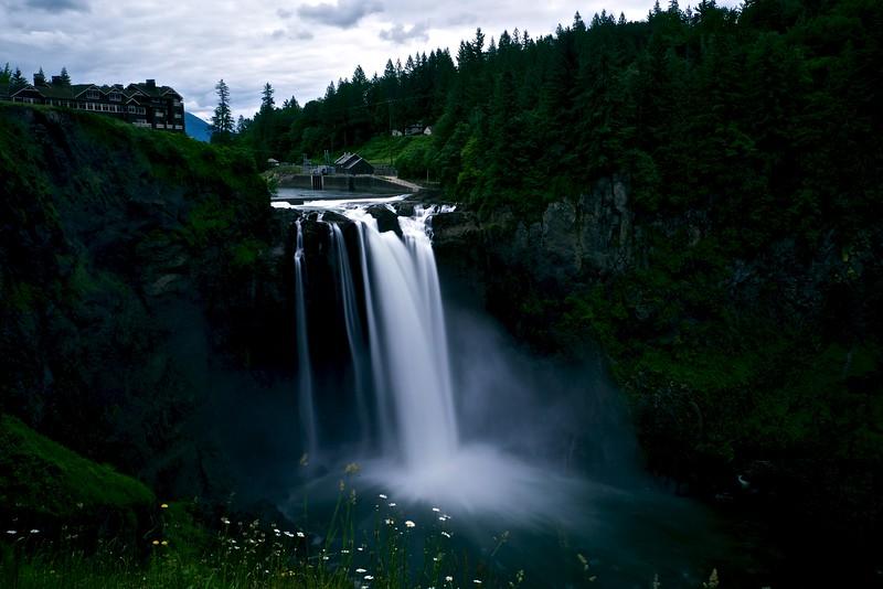 Snoqualmie Falls Long Exposure