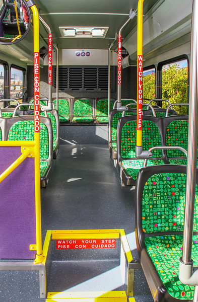 2014 Gillig - New Rider Transit Replacement Buses Interior Main Passenger Area