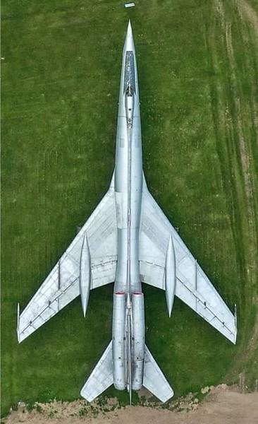 "Prototype Tu-22 ""Blinder""."