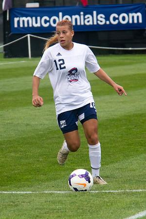 RMU Women's Soccer Vs Bryant