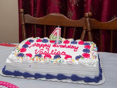 Vasya 4th Birthday