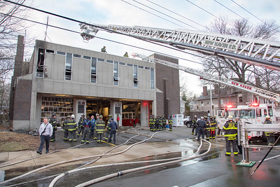 Whitney Ave. Firehouse Fire (New Haven, CT) 3/23/18
