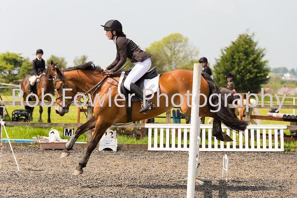 Isobel Hemp riding Sweetie