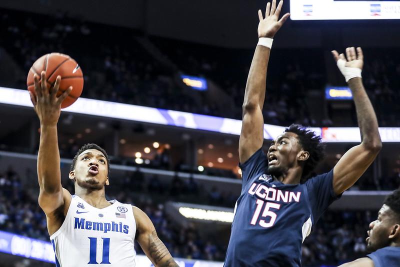 Connecticut Memphis Basketball