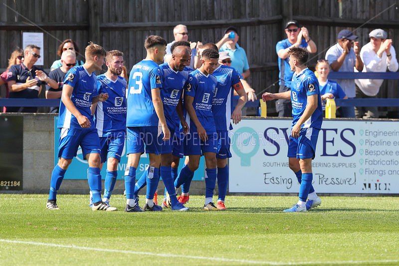 CHIPPENHAM TOWN V WEYMOUTH MATCH PICTURES 24th AUGUST 2019
