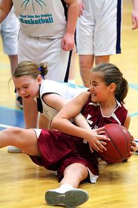 5th Grade Girls • St. Vincent vs St. John 3-2-2013