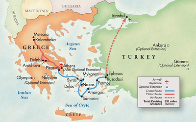 Greece - Ancient Sites and More - Sept-Oct 2014