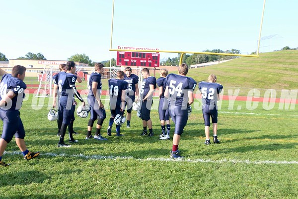 Multi-team Football Scrimmage at Liberty 8-26-17