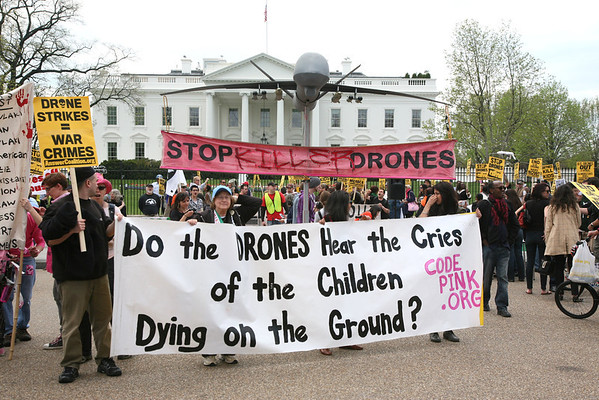 National Drone Protest White House