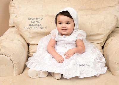 Bautizo Recuerdo - Sophia Trevino