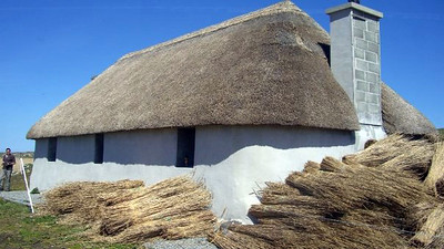 Thatch Cottages and old buildings