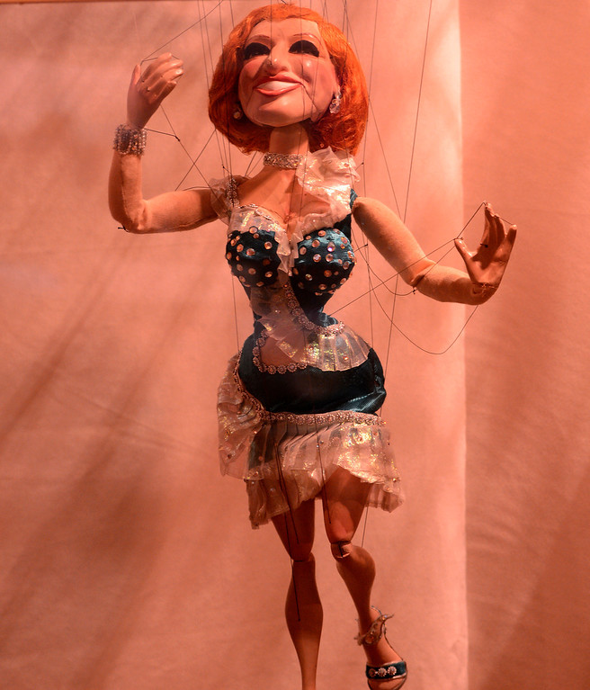 . A Bette Midler marrionette is on display in the Fine Arts Building during the 91st Annual  Los Angeles County Fair in Pomona September 1, 2013. GABRIEL LUIS ACOSTA/STAFF PHOTOGRAPHER.