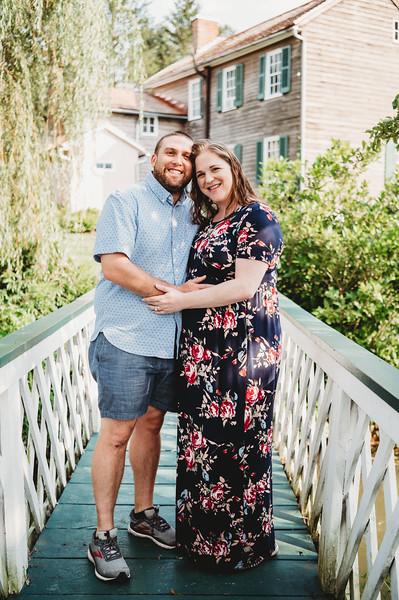 Sarah and Ryan Maternity