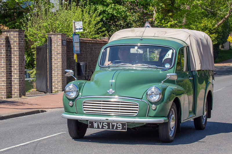 WVS179 1963 Morris 1000 pick-up