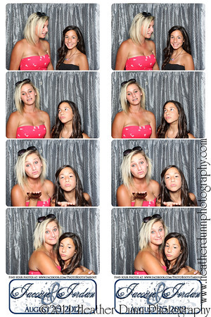 Jacquie and Jordan - August 25, 2012 - Photo Booth Strips