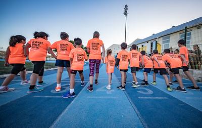Triathlon Malta Kids Track Session at Tal-Handaq School