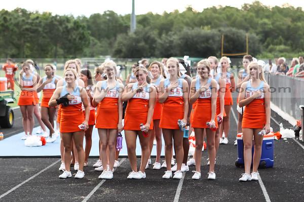 Freshman Cheerleading - 2013