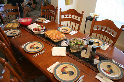 Easter Dinner 2009